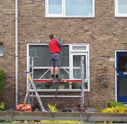 Lateiherstel 126 woningen in Groningen