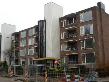Renovatie 3 flatgebouwen Maaslaan Groningen